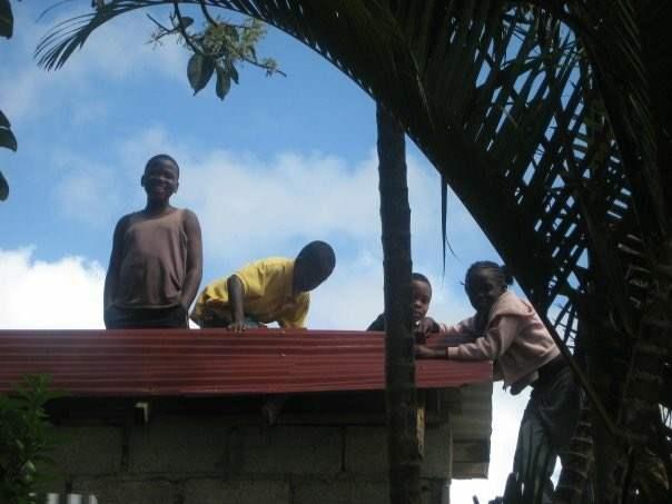 Bambini in Giamaica