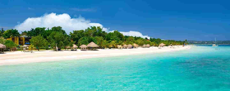spiaggia giamaicana