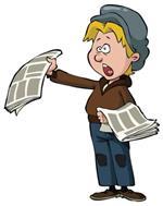 Risposta giornalaio