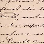 Risposta calligrafia