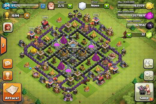 Muri Clash of Clans