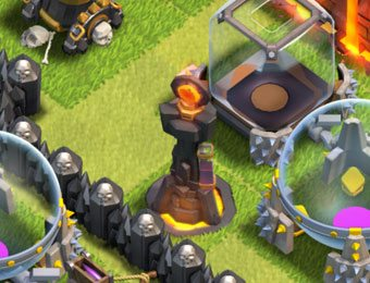 cannone clash of clans