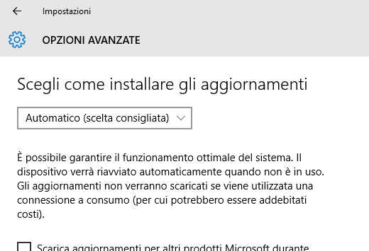 Windows Update Windows 10