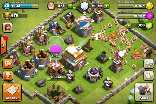 Attacco in Clash of Clans