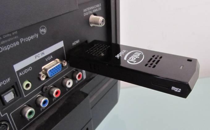 Collegamento HDMI Compute Stick