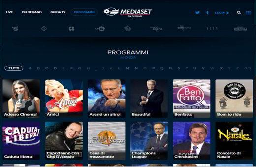 Mediaset Programmi
