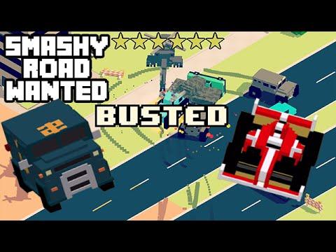 smashy road wanted macchine
