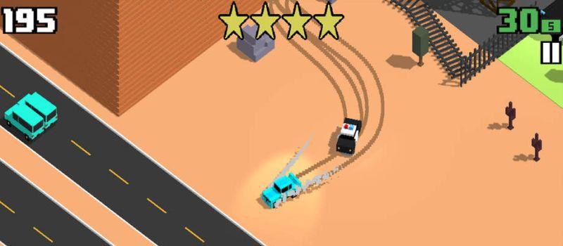 smashy road wanted macchine police