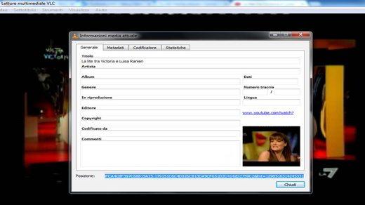 VLC informazioni Media