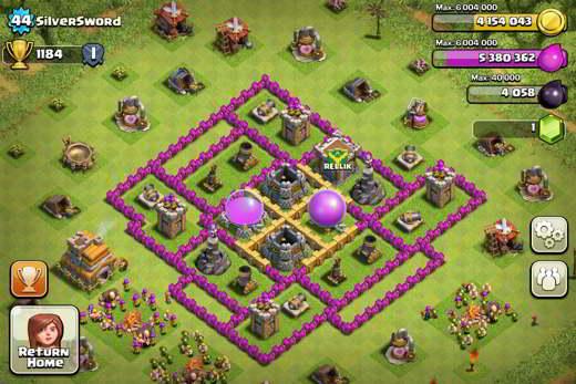 Il castello clan