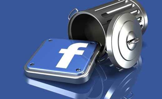 Come cancellare account Facebook definitivamente