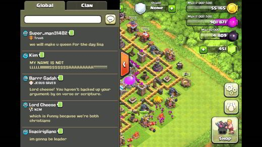 Chat Globale Clash of Clans