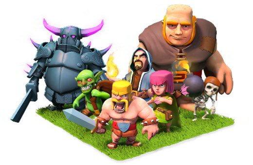 I personaggi di Clash of Clans