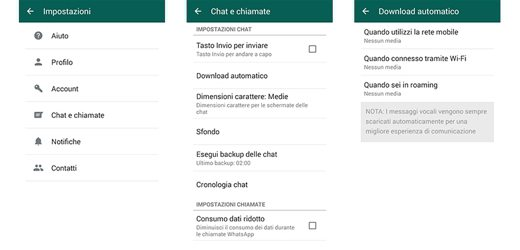 Download automatico WhatsApp