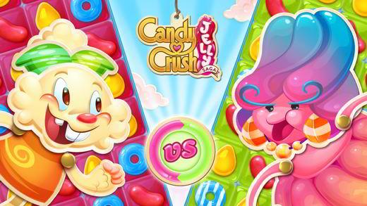 Le soluzioni di Candy Crush Jelly Saga