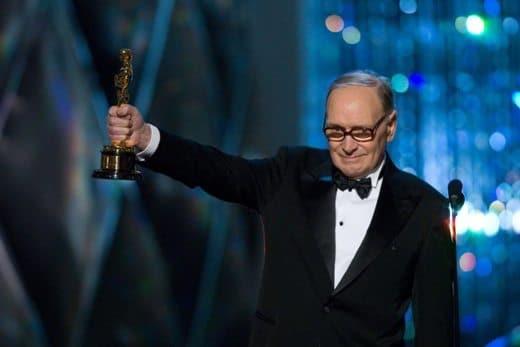 Ennio Morricone vince l'Oscar