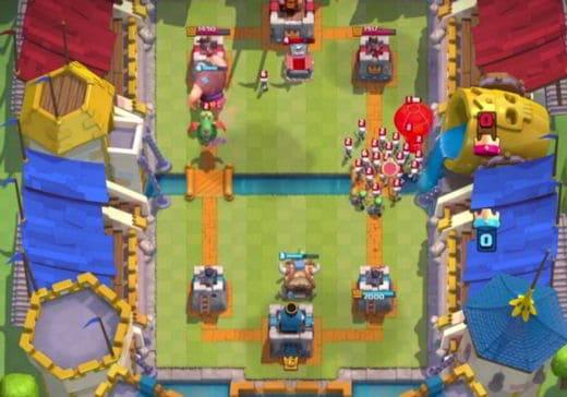 Tipi di attacchi in Clash Royale