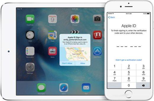 Codice a sei cifre dispositivi Apple
