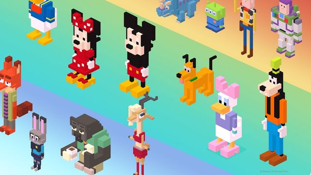 Personaggi Disney Crossy Road