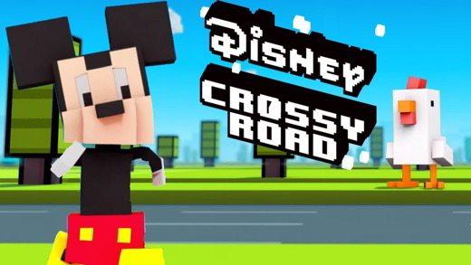 Come sbloccare i personaggi Disney in Crossy Road