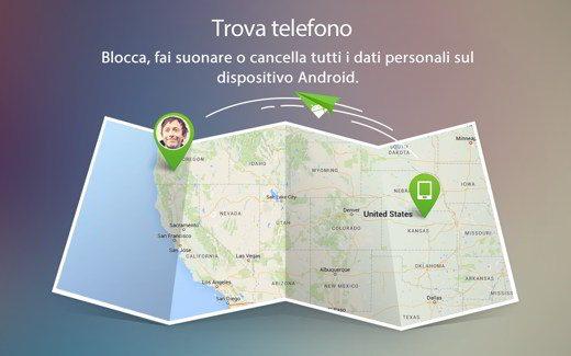 Trova Telefono AirDroid