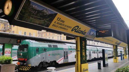 Ricola nella Stazione di Milano Cadorna