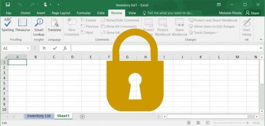 Come proteggere i fogli Excel