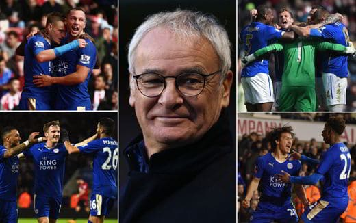 Ranieri e Leicester vincono Premier League