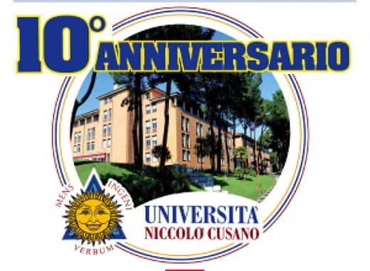 Università Niccolò Cusano Festeggia 10 anni di vita