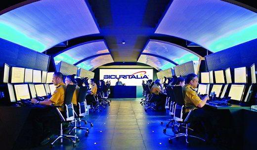 Centrale Operativa di Sicuritalia Protezione24