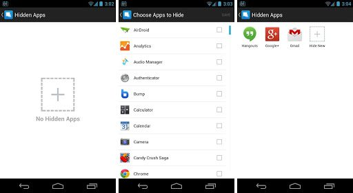App Hide Application WhatsApp