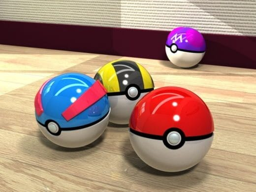 Pokemon GO - Great Balls, Ultra Balls, Master Balls
