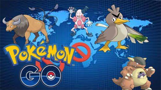 come ottenere Kangaskhan, Tauros, Mr. Mime e Farfetch'd in Pokémon Go!