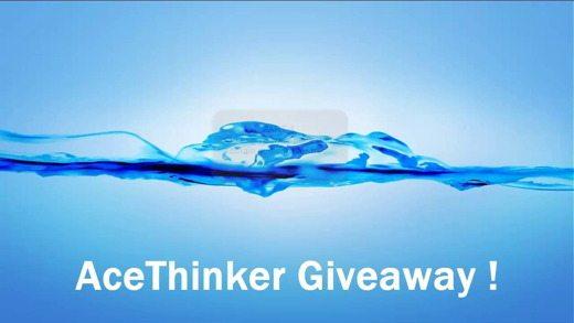 AceThinker Giveaway