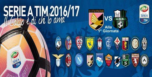 serie a - Calendario Serie A 2016/17: curiosità e commenti