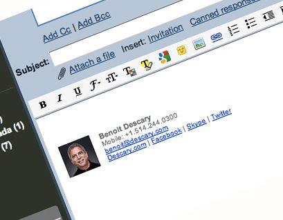 Come firmare una email con Gmail
