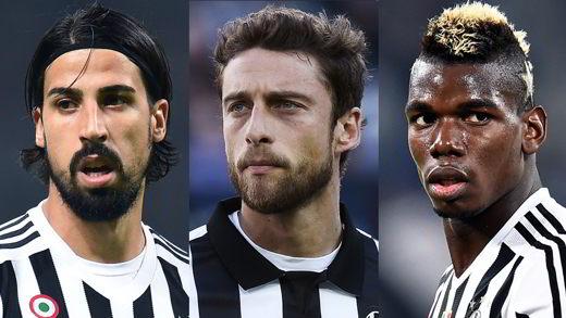Kedhira, Marchisio, Pogba