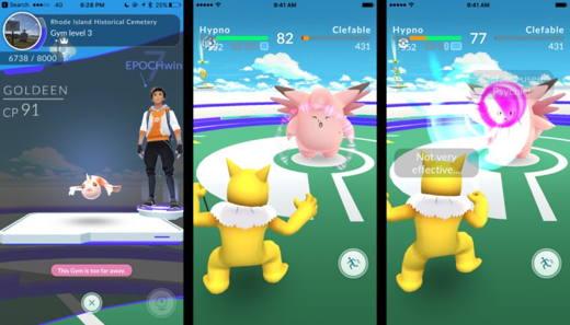 Le palestre di Pokémon Go