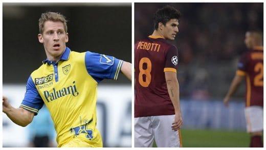 Birsa e Perotti prima giornata Serie A