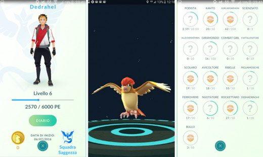 Elementi Profilo Allenatore Pokémon