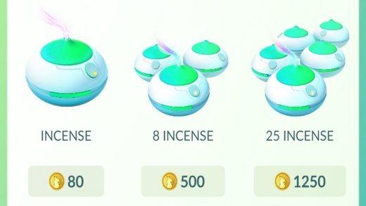 Gli incensi di Pokemon Go
