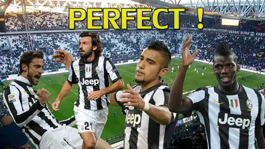 Marchisio, Pirlo, Vidal, Pogba