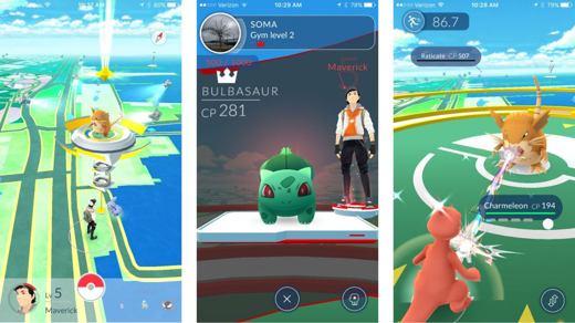 Le palestre in Pokémon Go