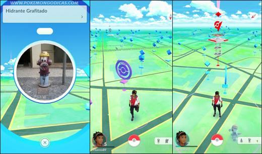 I Pokéstop in Pokémon Go