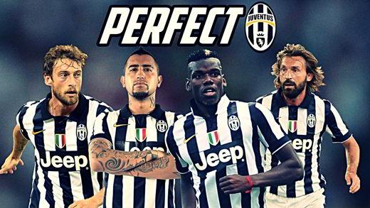 Marchisio, Vidal, Pogba e Pirlo