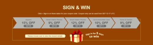 Sign & Win
