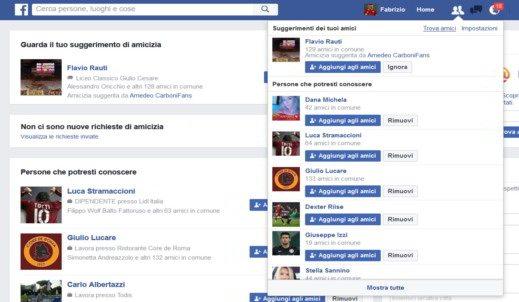 Facebook Trova Amici