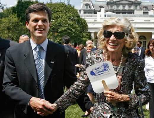 Tim Shriver e Loretta Claiborne