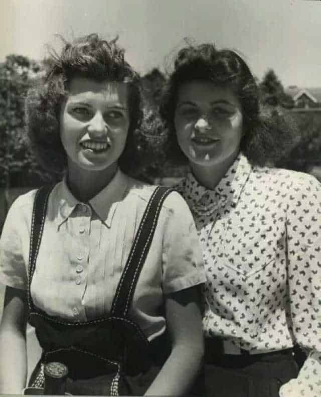 Rosemary e Eurnice Kennedy