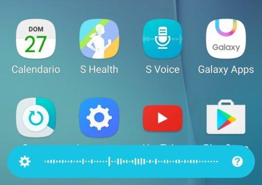 S-Voice per dettare messaggi WhatsApp